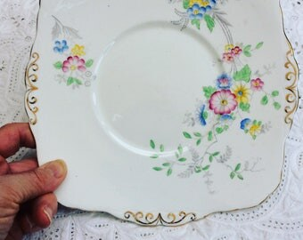 Wellington bone china cake/bread and butter plate circa 1924 - 1927