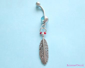 Boho belly button ring , Navel ring, Belly button Jewelry, Belly button piercing, Belly button ring