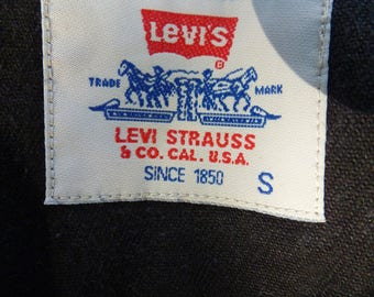 Black 70s Levis
