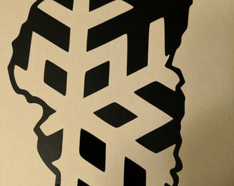 lake tahoe snowflake 1