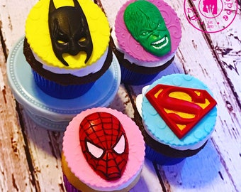 Superhero Silicone Mold Set