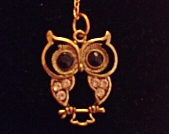 owl keychain, owl jewelry, purse charm