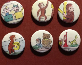 Curious George Magnets