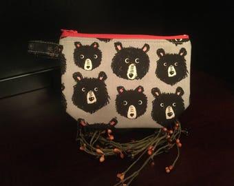 Zip Notion Bag, Bears