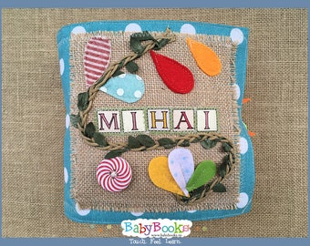 Sensory Baby Book Baby Toy