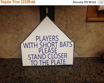 Baseball Sign Bathroom Sign Wood Sign Sayings Boys Room
