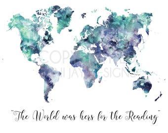 World Map Prints, World Map Canvas,World Map Art, Canvas Wall Art, Wanderlust Wall Print, Large World Map, World Map Canvas Wall Print