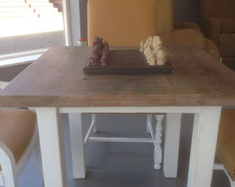 Reclaimed timber 4 seater dining table