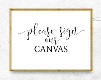 Bitte melden Sie sich unsere Leinwand, Hochzeit Zeichen druckbare Hochzeit Willkommensschild Hochzeit Zeichen, hochzeitsdeko, Rezeption Zeichen, Hochzeit Beschilderung