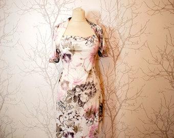 Jersey tunic with a nice drape, size 38-42