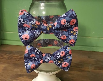 Bow Tie, Rifle Paper Co. Fabric, Wedding Bow Ties, Mens Bow Tie, Boys Bow Tie