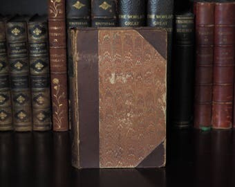 Antique Whittier Poems, 1881 John Greenleaf Whittier - The Complete Poetical Works, Scarce, Decorative Book