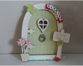 Handcrafted Wooden Fairy Doors