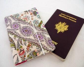 Fabric Passport ethnic, women, fabric case Passport