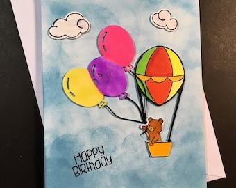 Age 4 Birthday Card