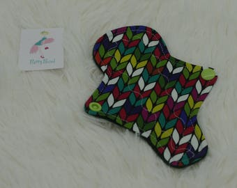 """6"""" Thong Liner Knit Jersey CSP Cloth pad (2"""" snapped) thin discrete fleece back daily liner"""
