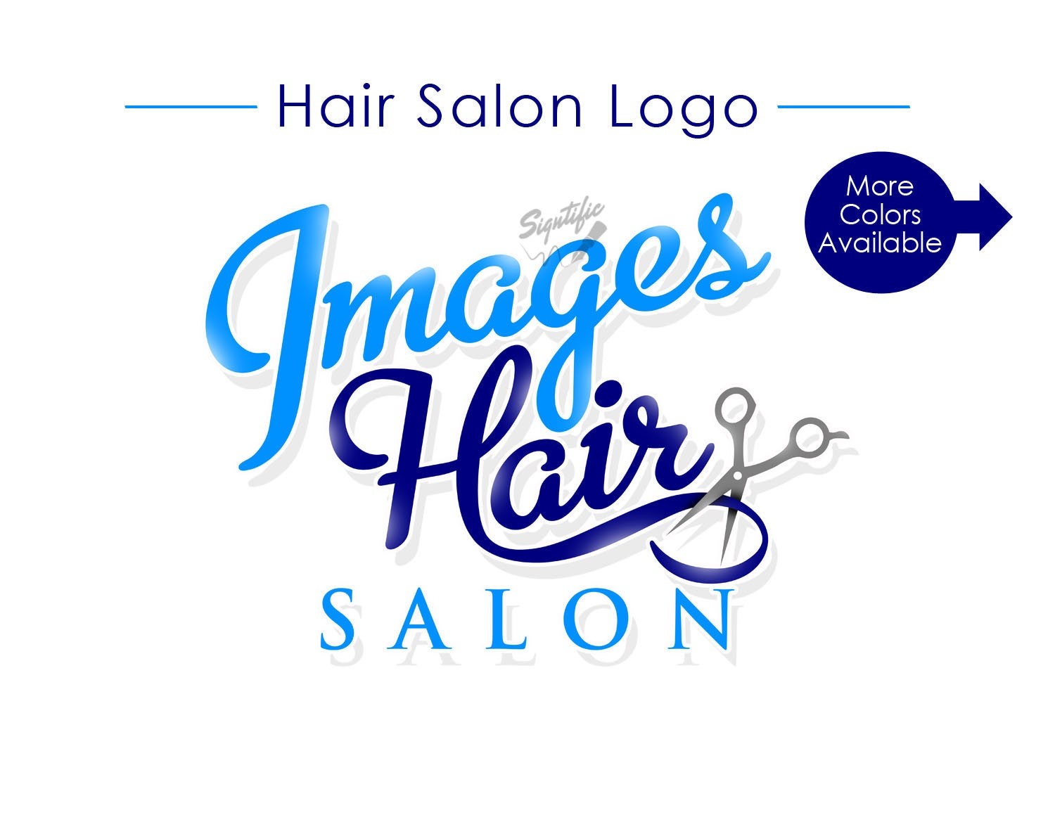 Hair salon logo custom logo logo design logos logo for Address beauty salon
