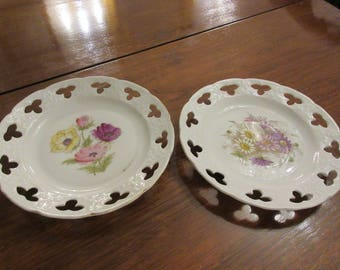 PAIR OF ANTIQUE Plates