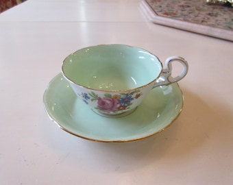 ENGLAND ROYAL GRAFTON Teacup and Saucer