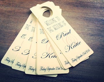 20 Wedding door hangers do not disturb we partied all night mr and mrs tenner Tuesday