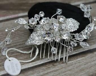 FAST SHIPPING!!! Bridal Hair Comb, Wedding Hair Comb, Crystal Hair Comb, Swarovski Hair Comb, Headpiece, Crystal Headpiece, Bridal Headpiece
