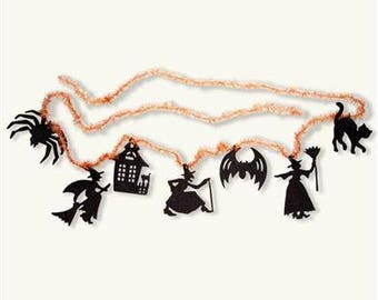 Cute Halloween Garland Holiday Party Decor