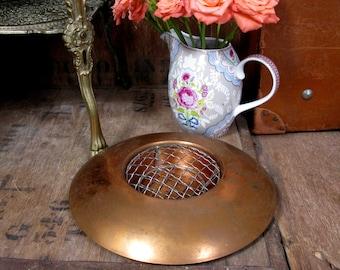 Copper Posy Bowl, Vintage Posy Bowl, Posy Bowl, Posy Holder, Posy Vase, Rose Bowl, Vintage Copper, Vintage Copperware, 1970s Decor