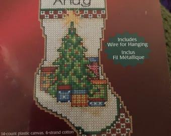 Counted cross stitch Stocking Kit