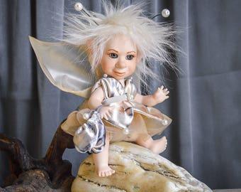 Fairy doll Teacher Gift teacher present fairy figurine poseable fairy art doll fairy dolls porcelain doll poseable art doll LIMITED EDITION