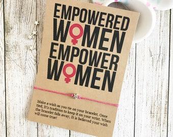 Empowered Women Empower Women, Feminist Party Favors, Women Network Event Favor, Girl Power, Girl Boss, Mom Boss, Lady Boss, Empowerment