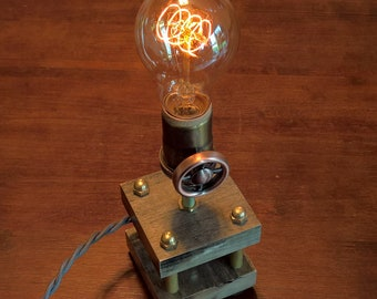 Nostalgic Steampunk Edison Lamp With Dimmer