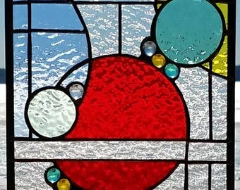 Stained Glass Bubbles and Nuggets