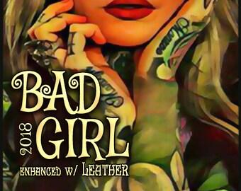 Bad Girl 2018 w/ Leather - Pheromone Enhanced Perfume for Women - Love Potion Magickal Perfumerie - Pherotine 2018
