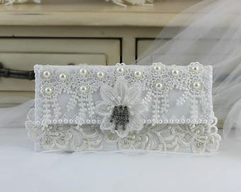Foldover Clutches, Clutch Purse, Bridal Clutch Purse, Lace Bridal Clutch, Bridal Clutch Bag, Evening Clutch Purse, Purse, Wedding Purse
