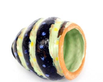 Ceramic conch handmade, aquarium decor, fish hidden place , aquarium decoration