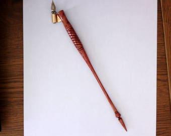 Oblique Calligraphy Pen in Oak