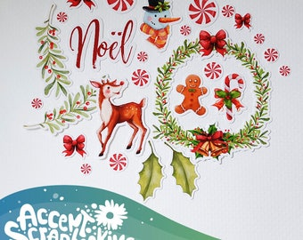 "Set of cut-out ""Noel"" (Etsy exclusive)"