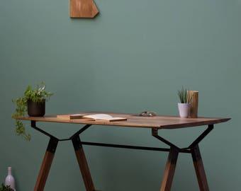 Hälig, Walnut Desk, Table [Bespoke sizes!] writing computer minimal office