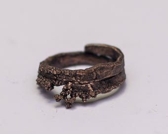 Copper Viking Rustic Ring