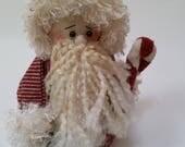 Primitive Santa, Santa doll, primitive Santa doll, Santa Claus, Primitive Santa Claus, vintage Santa, Christmas decor, Christmas decoration