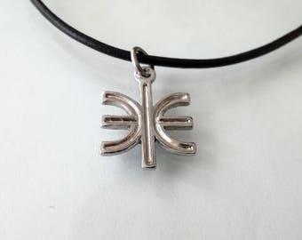 Delphian Epsilon necklace - Ancient Greek symbol