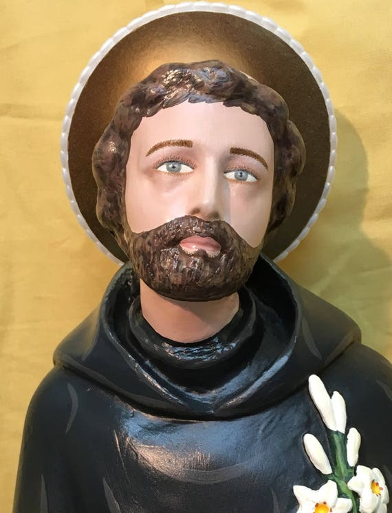 """St. Joseph of Cupertino 26"""" The Flying Monk. Patron Saint of Studying and Those Suffering Mental Handicaps."""