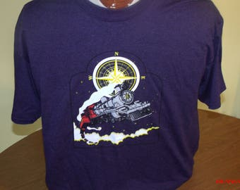 Grateful Dead Shirt. Flying Cosmic NorthBound Train.