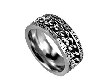 """Chain Ring """"Fear Not"""""""