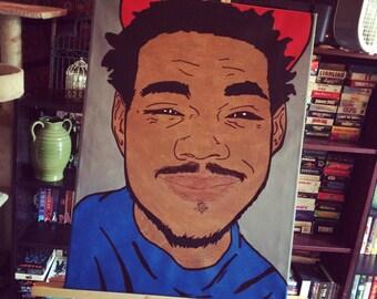 Chance The Rapper Portrait