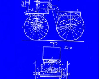 G B Selden Road Engine Patent #549,160 dated November 5, 1895.