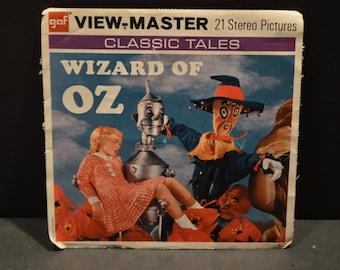 Vintage B361 1973 Wizard of OZ GAF View Master Reels