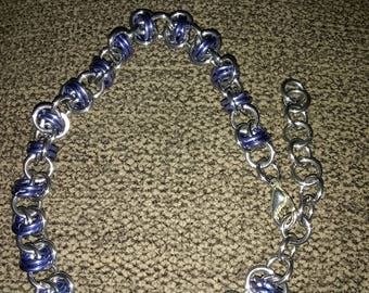 Stunning Barrel Weave Chainmaille braclet! Perfect for that special someone