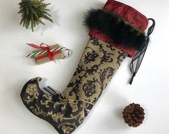 Bohemian Christmas Stocking Larger size