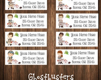 Ghostbusters Address Labels, Mailing Labels